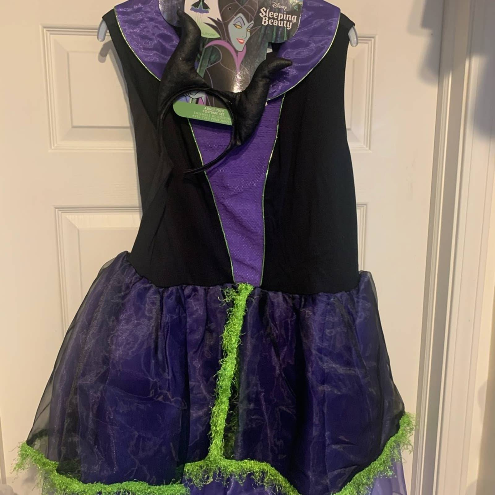 NWT Disney Maleficent Costume Adt Sz XXL
