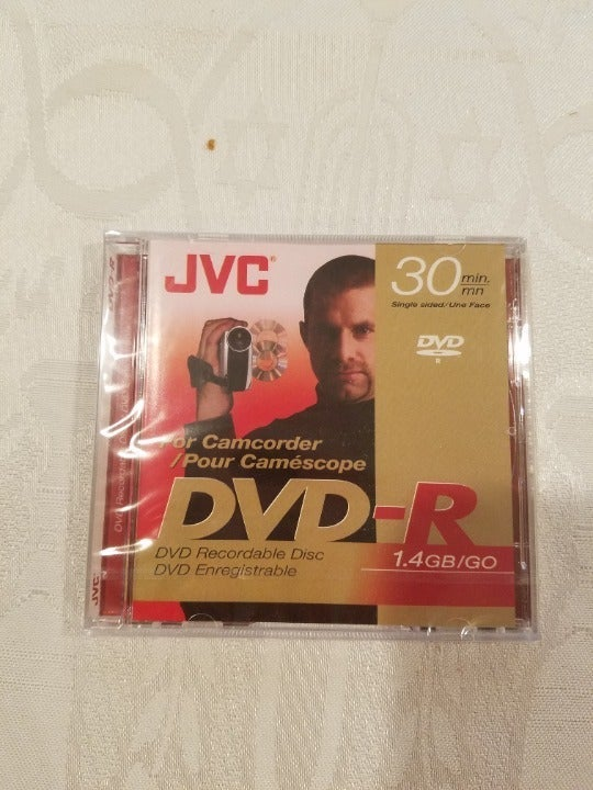 JVC DVD-R Recordable Disc Camcorder 1.4G