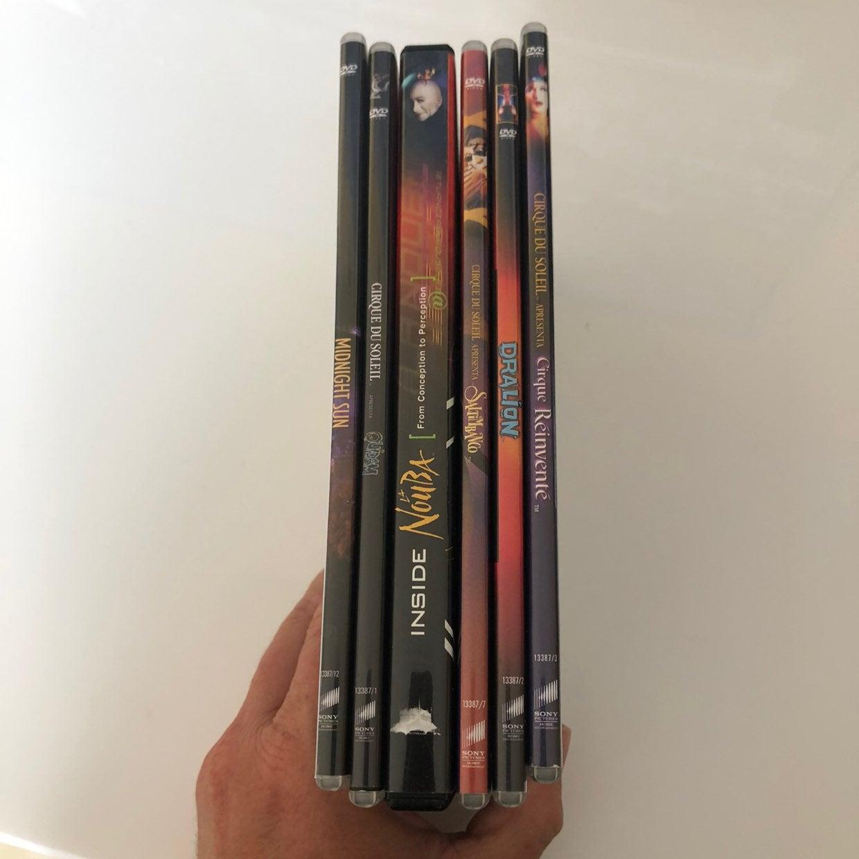 Cirque Du Soleil 6 DVD Set