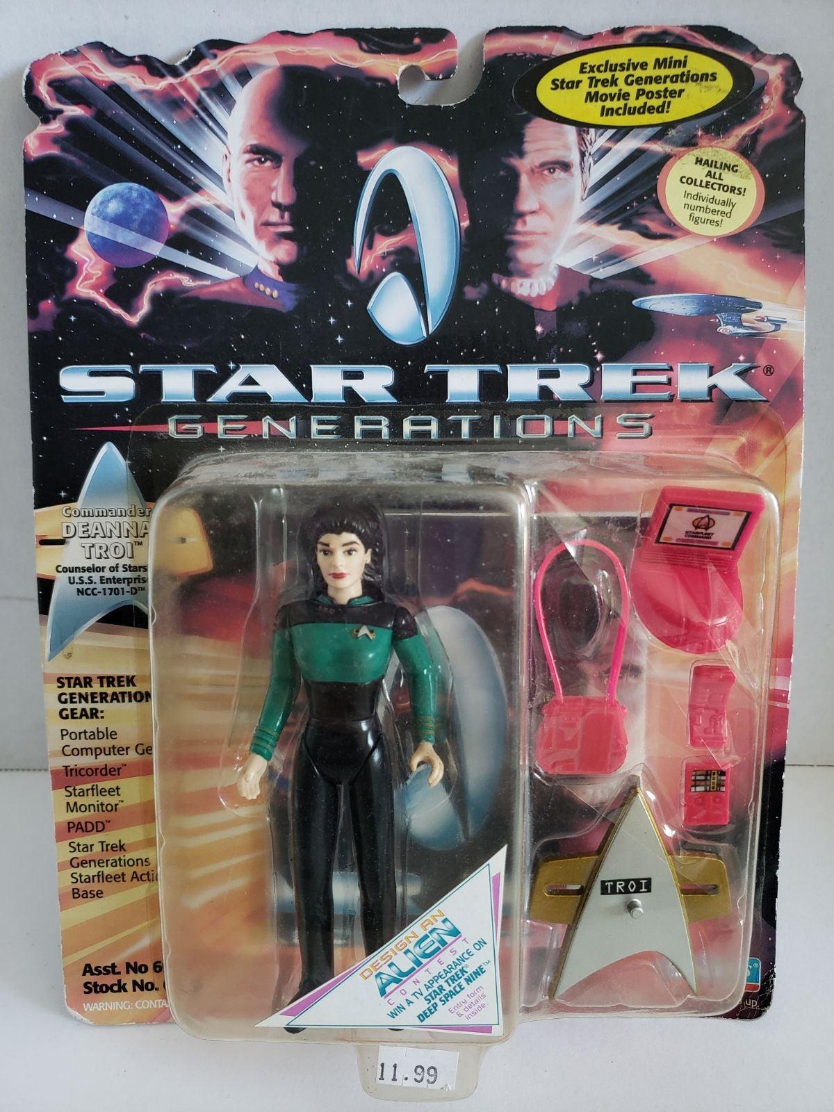 Star Trek Action Figure - Deanna Troi
