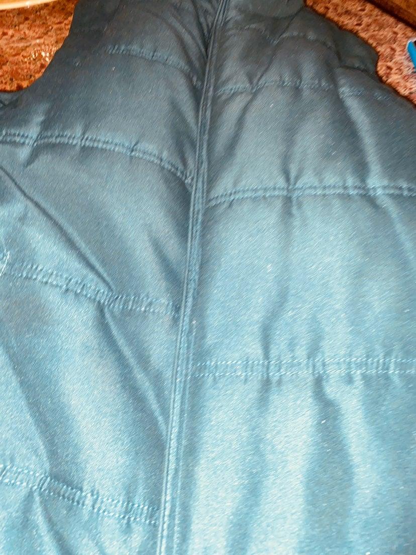 Vintage weatherproof vest jacket