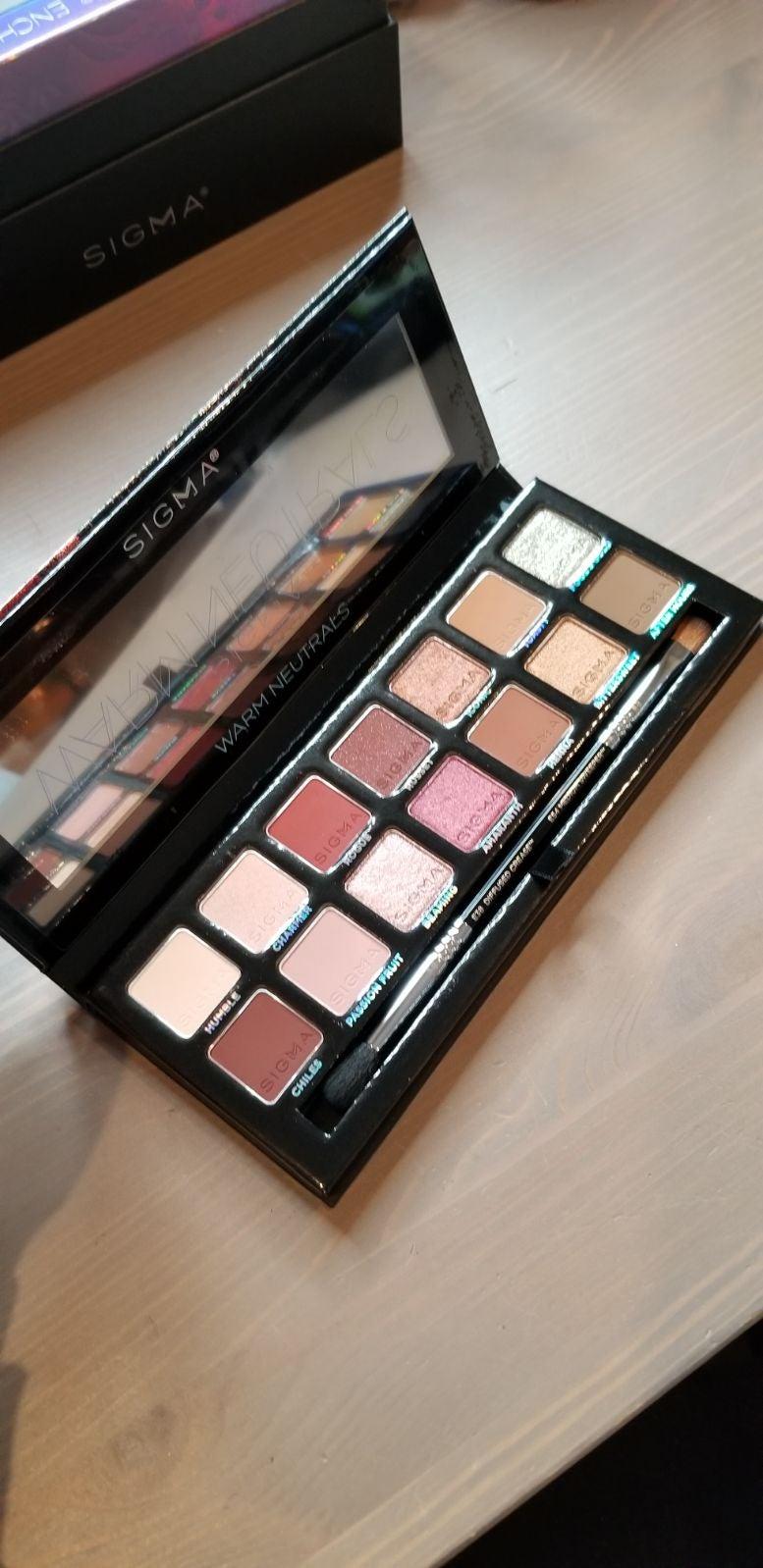 Sigma Beauty Warm Neutrals Palette