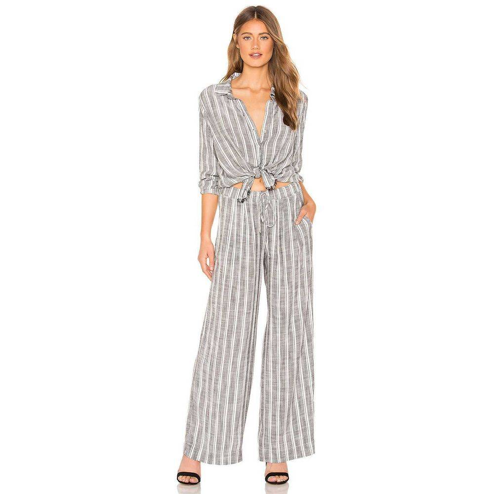 Bella Dahl Pleated Front High Rise Pant