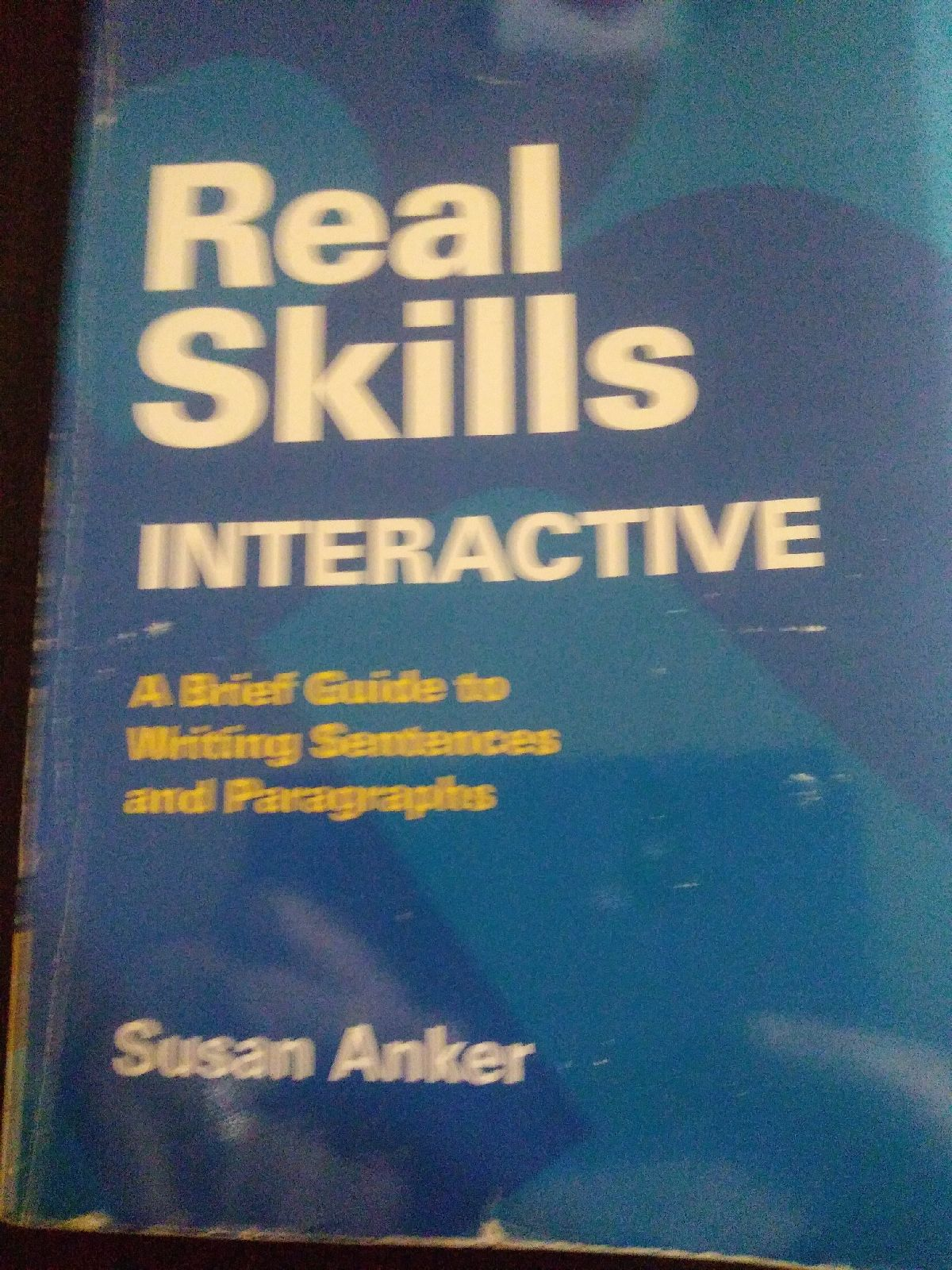 real skills book interactive by Susan An