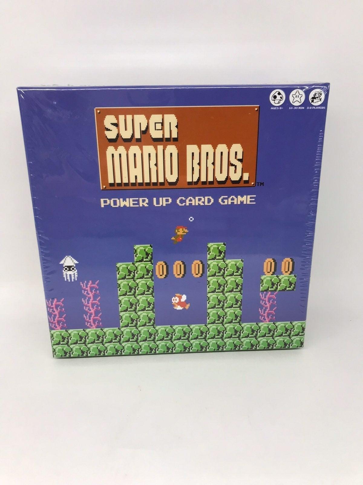 Nintendo Super Mario Bros Power Up Game