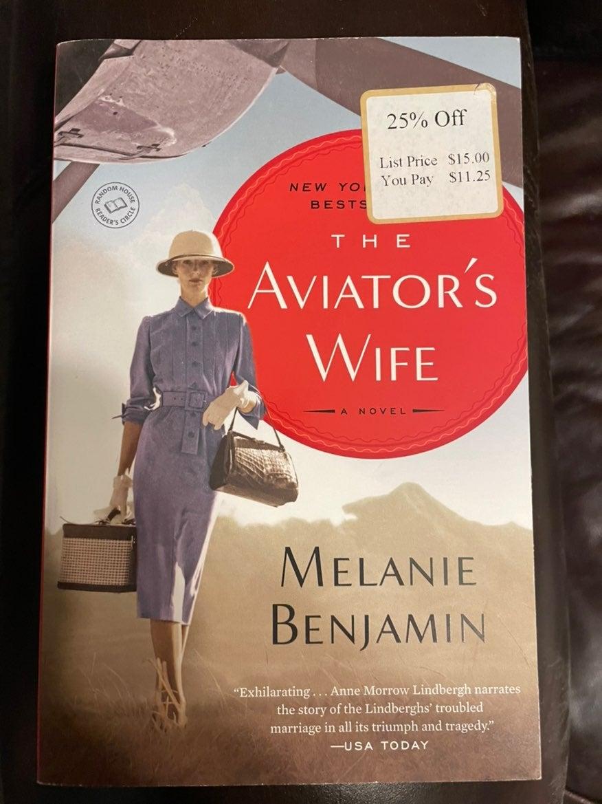 The aviators wife by melanie benjamin