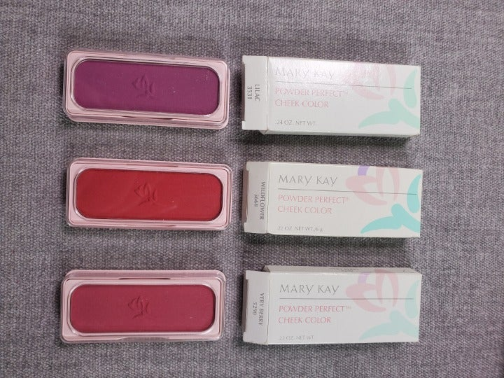 1 Set Mary Kay Cheek #3531, 5668, 5290