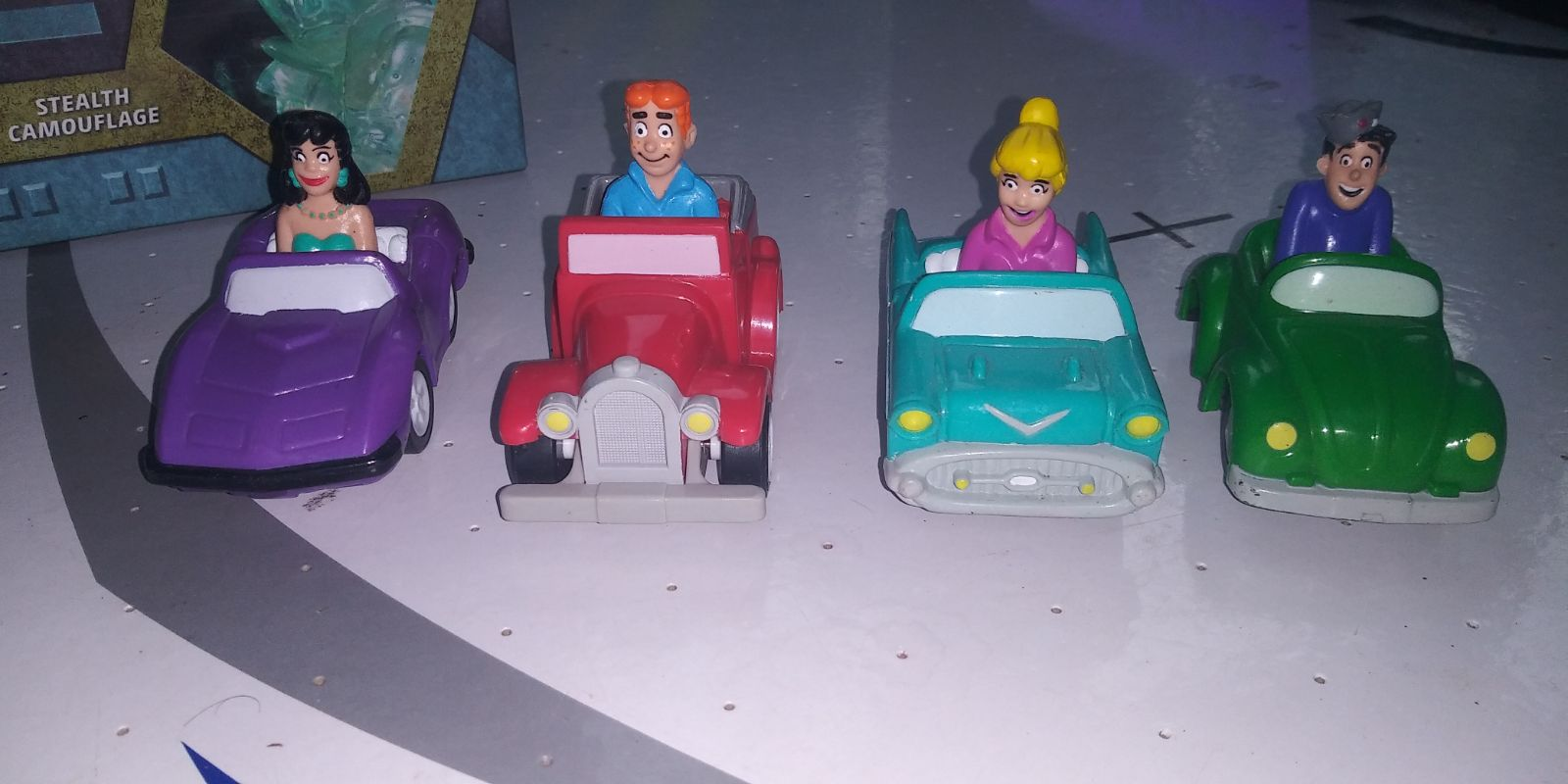 1991 Burger King Archie Toy Cars