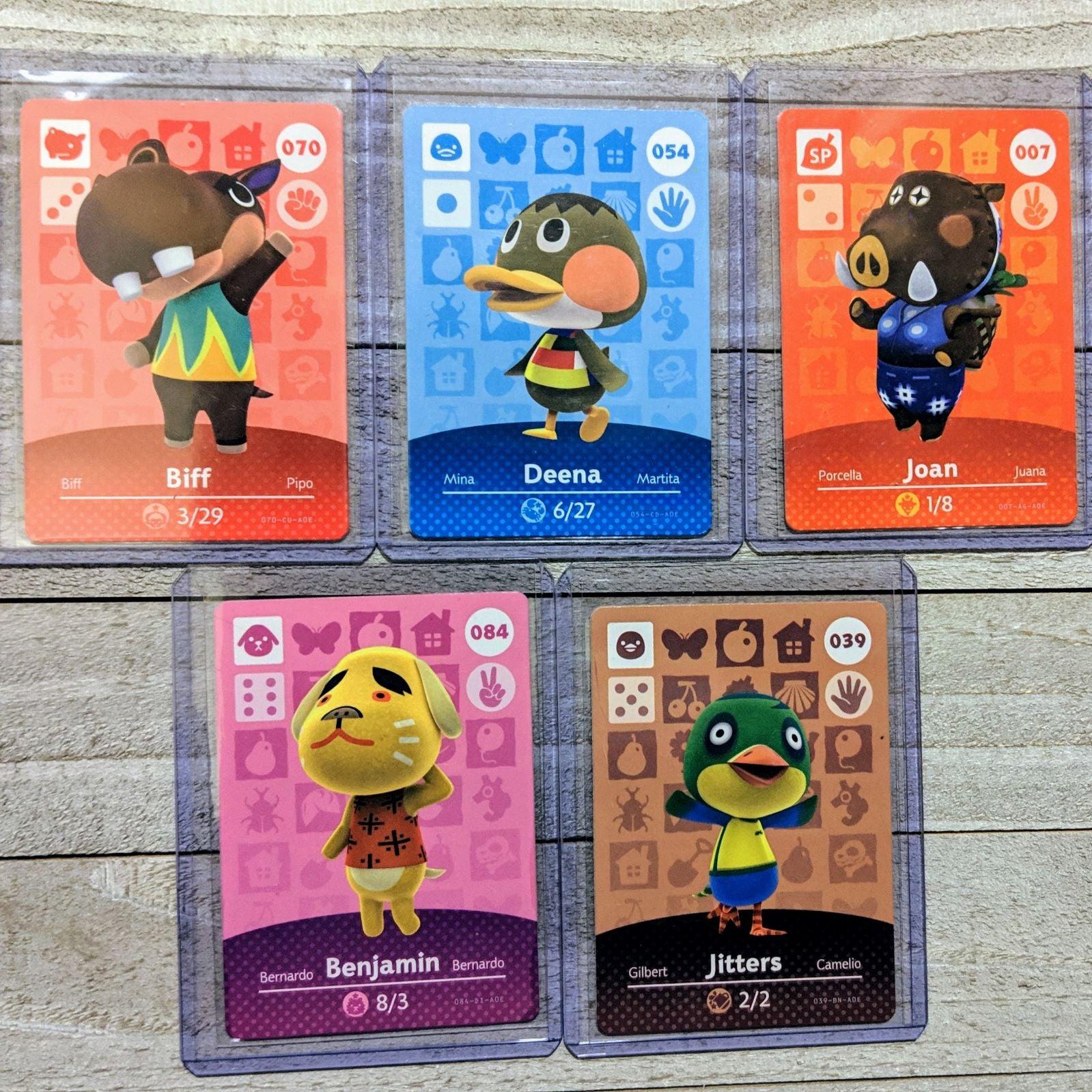 Animal Crossing Amiibo Cards: Five Total