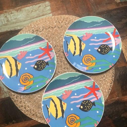 Dept 56 Fish Plates