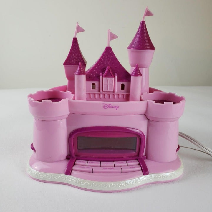 Disney Princess Castle Alarm Clock Radio