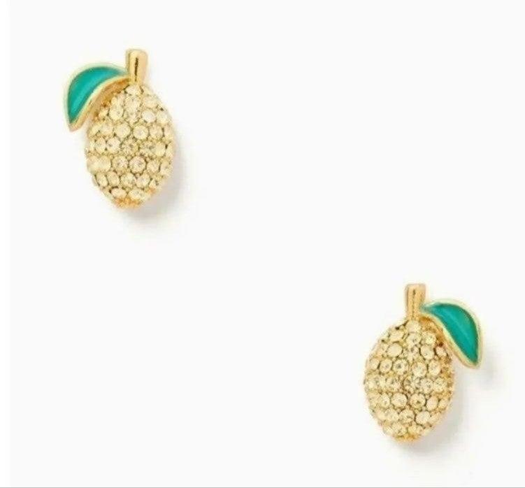 ♠️ NEW Kate Spade Lemon Earrings Studs