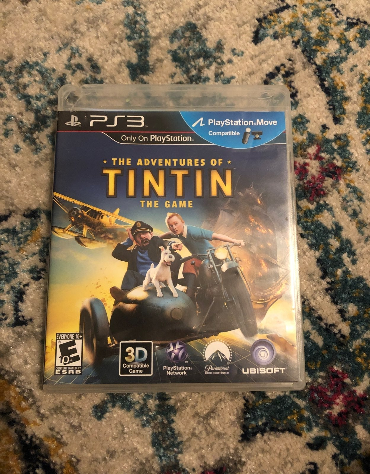 Adventures of TinTin PS3