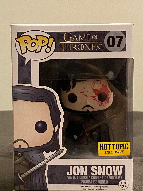 Game of Thrones Bloody Jon Snow Funko Po