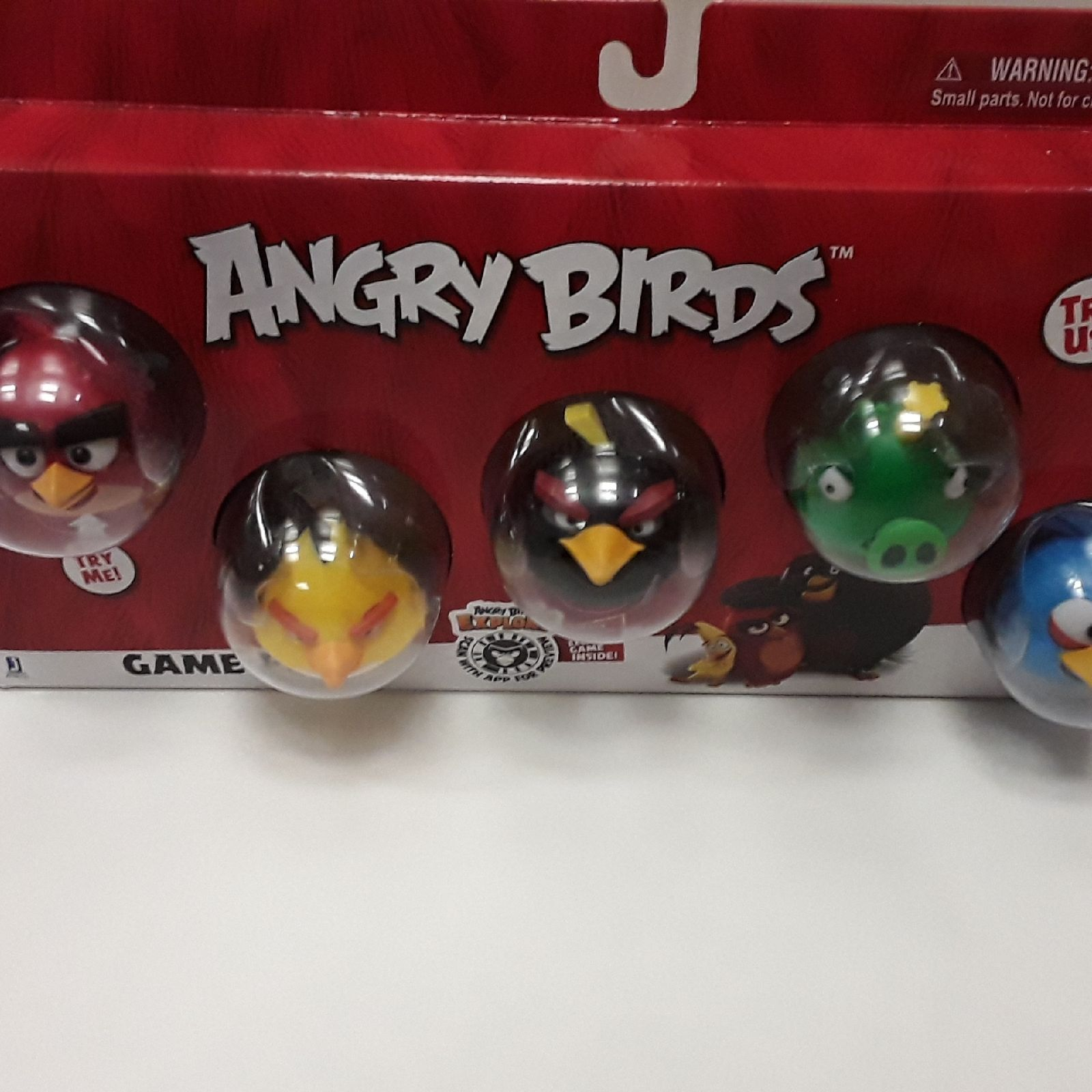 Angry birds Try Us Game Pack