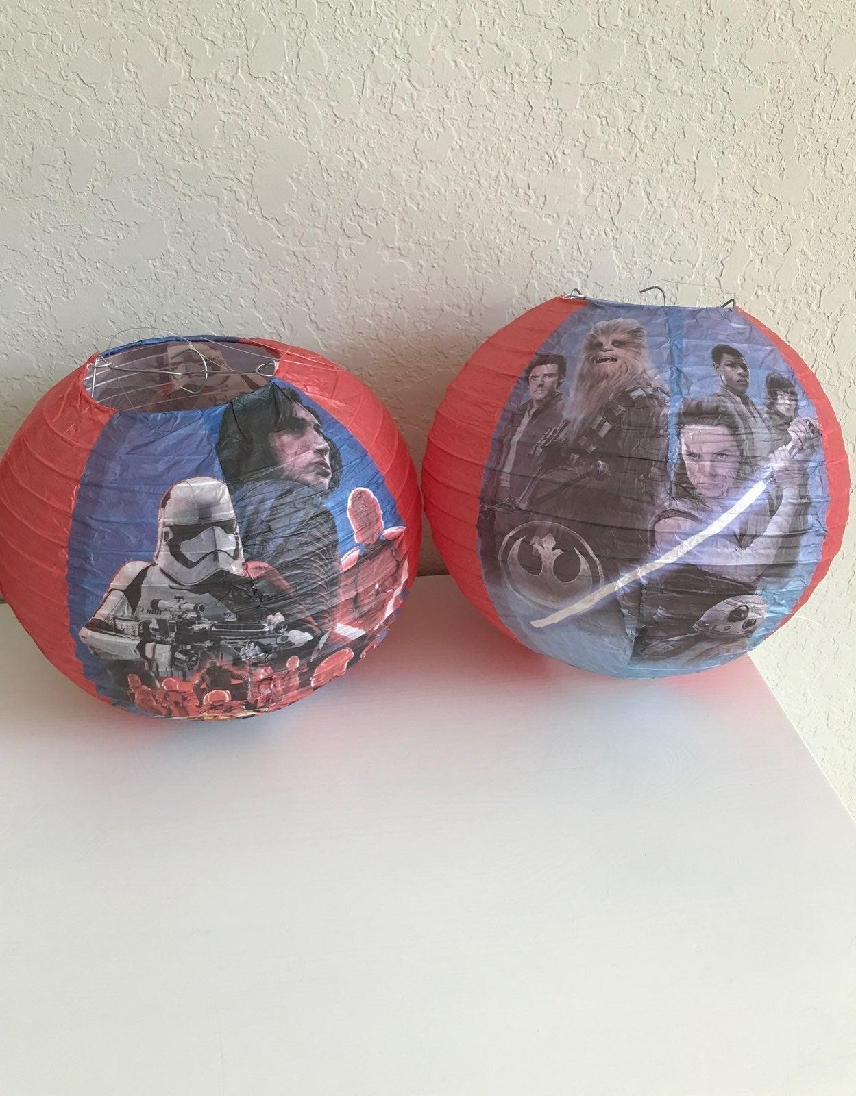 Star Wars Party Lanterns