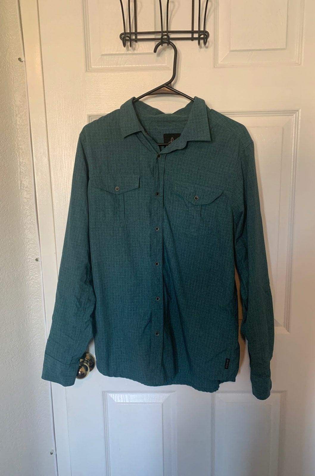 Men's Prana Longsleeve Button Down Shirt