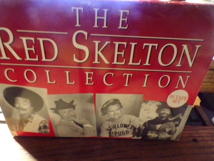 10 RED SKELTON  VHS TAPES