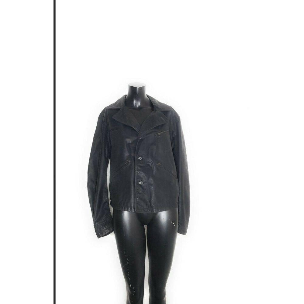 Vtg Armani Exchange Pelle Leather Jacket