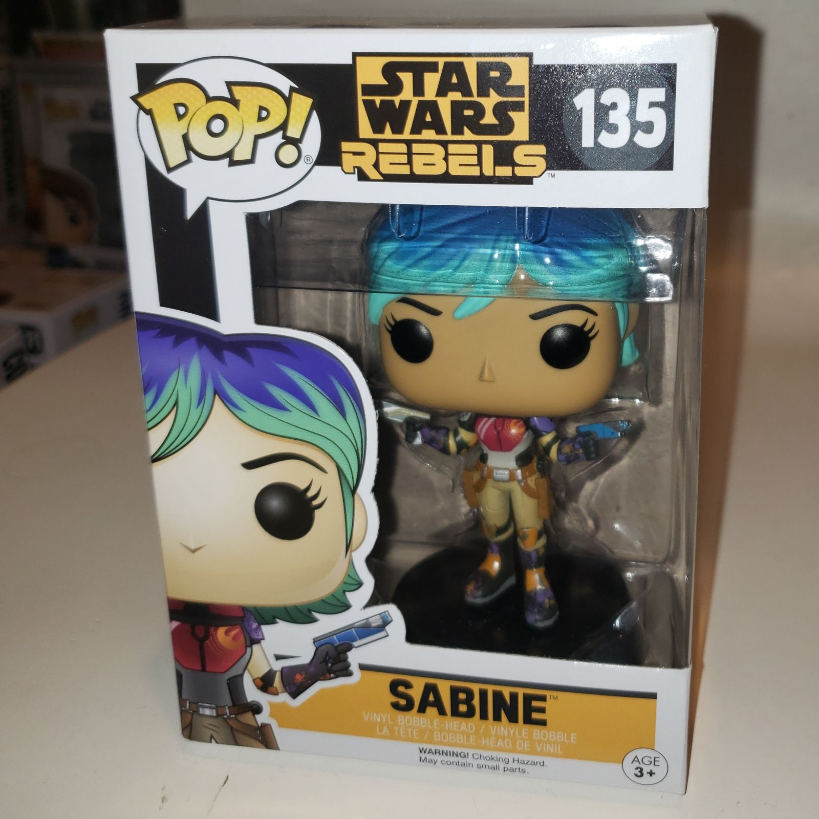 Sabine - Funko Pop mandalorian unmasked