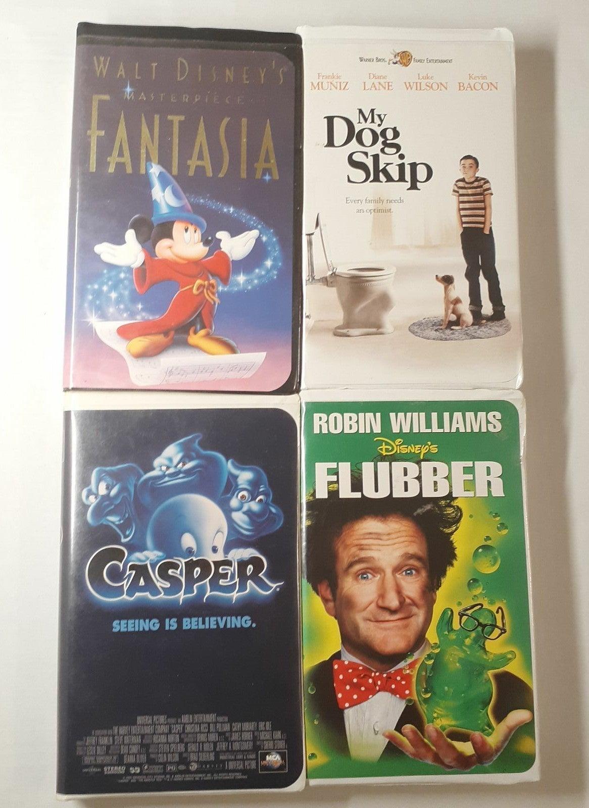 VHS Tapes Lot - Disney - W.B - MCA