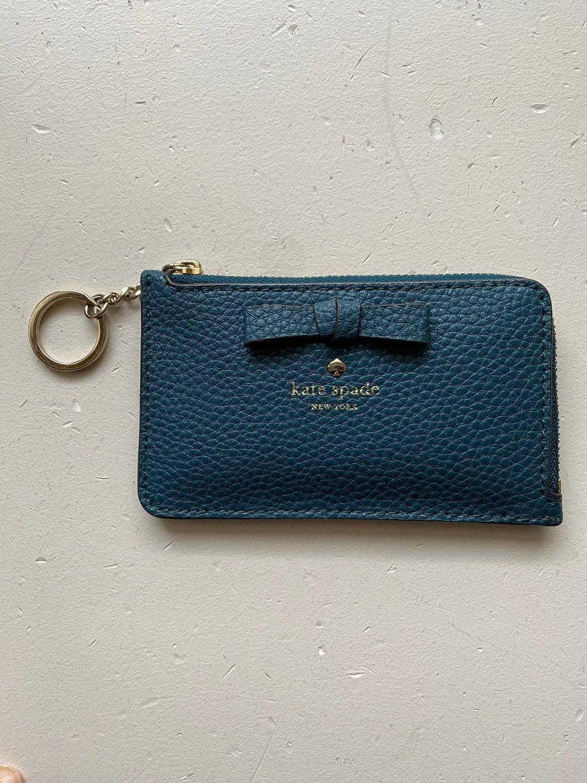 Kate Spade Street Poppy Card Case Wallet