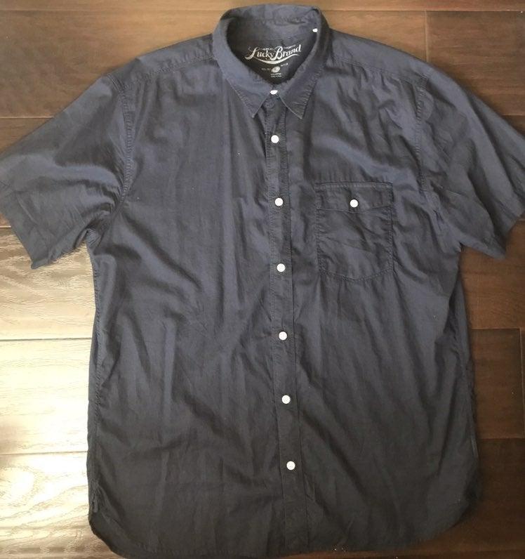 Lucky Brand short sleeve button up shirt