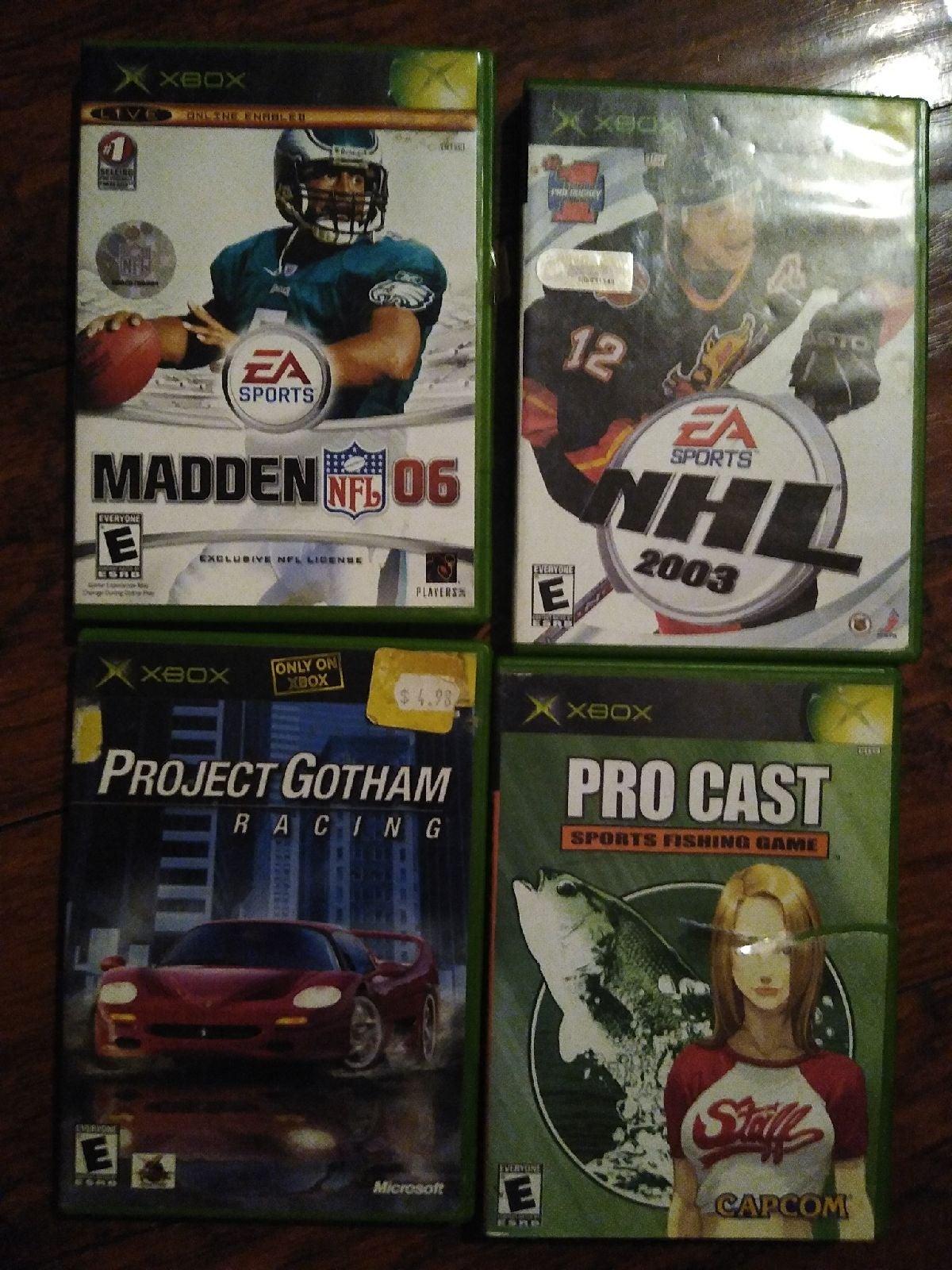 Xbox game Lot