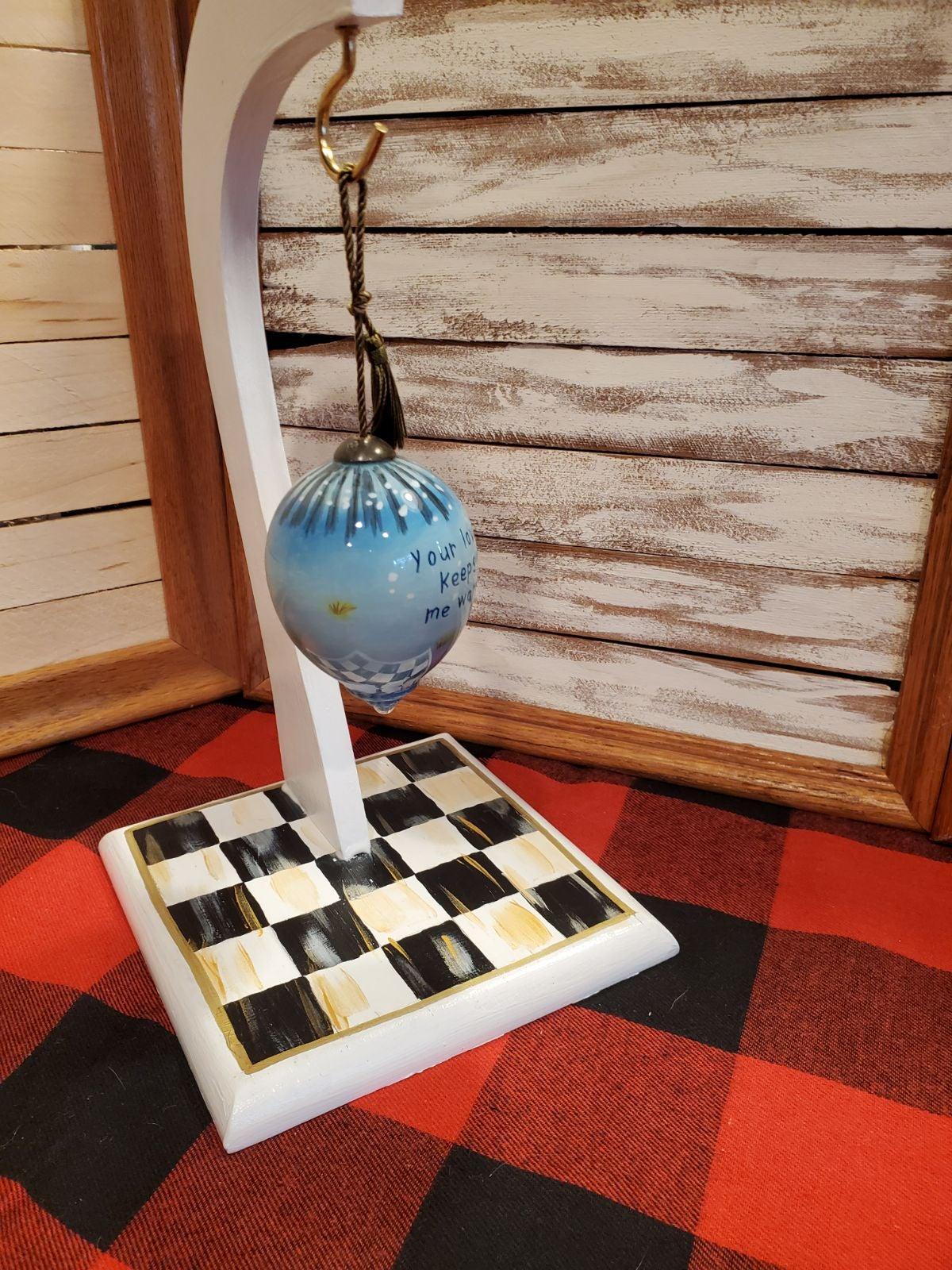 MacKenzie Childs inspired ornament holde