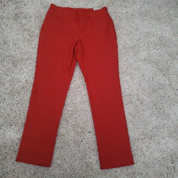 Chico's stretch pull up work pants (4p)