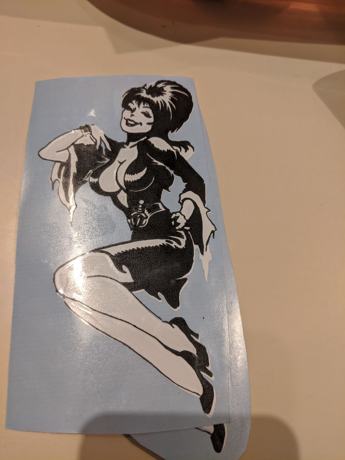 elvira decal