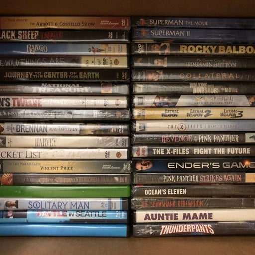 New/Sealed DVD Movies Lot