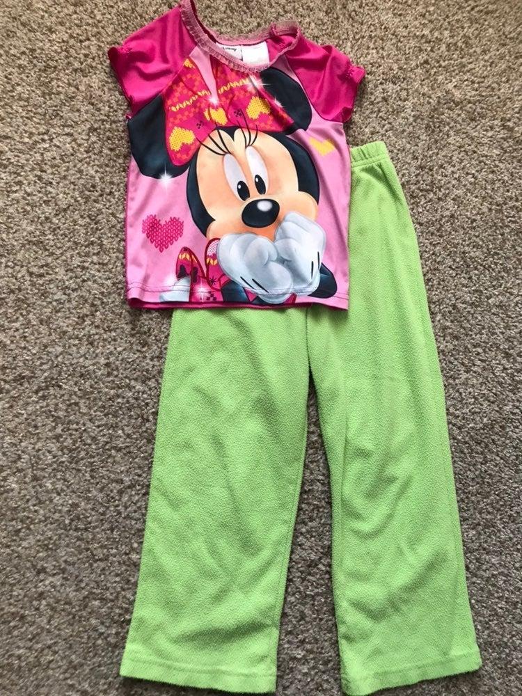 Pj size Pajama set toddler girl
