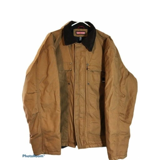 Craftsman Mens Field Jacket Brown Size L