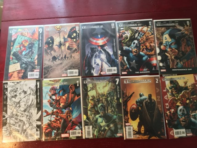 Lot of Marvel Ultimates 2 variant