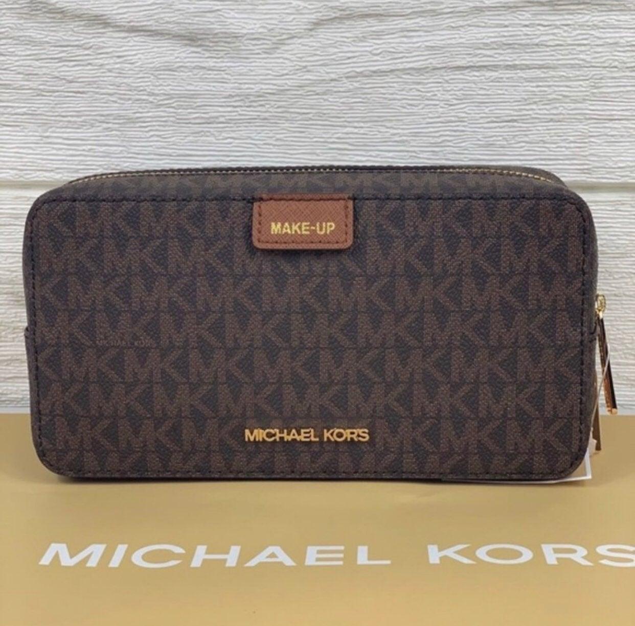 MICHAELKORS Travel MakeUp Pouch Case Bag
