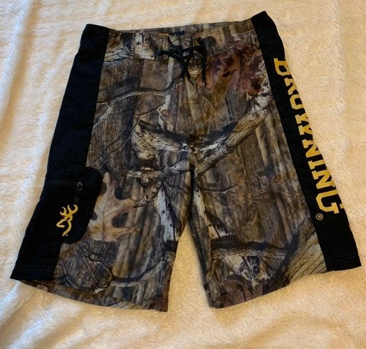 Browning Camo Swim Shorts