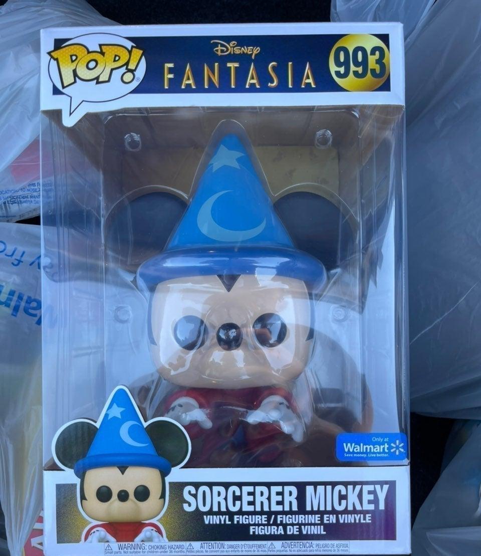 """Sorcerer Mickey 10"""" Funko Pop"""