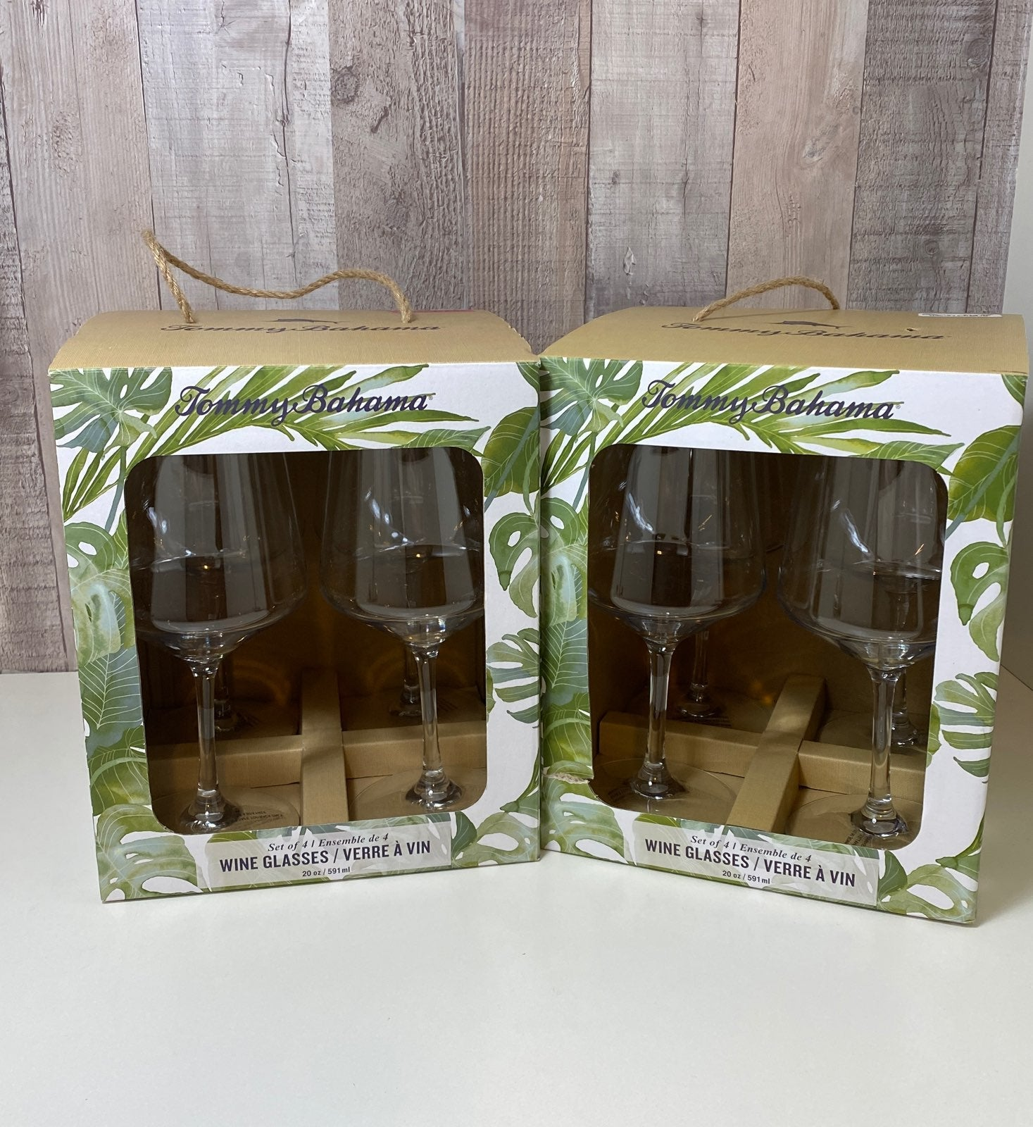 Tommy Bahama 8pc. Wine Glasses