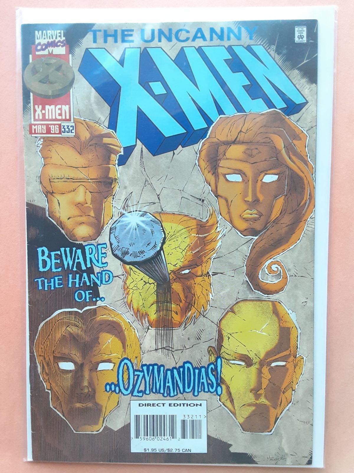 THE UNCANNY XMEN #332