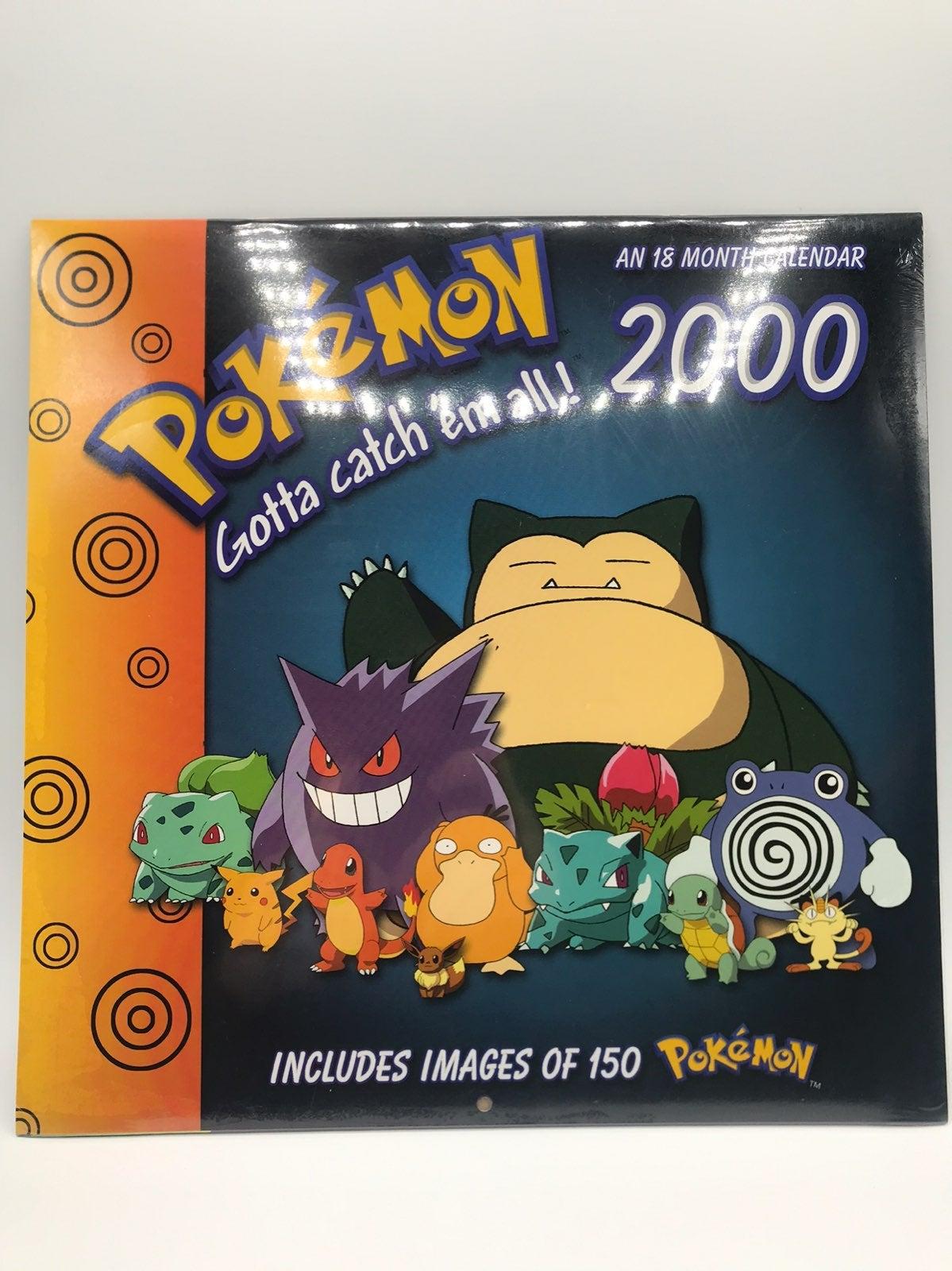 Pokemon Millenium Calendar 2000