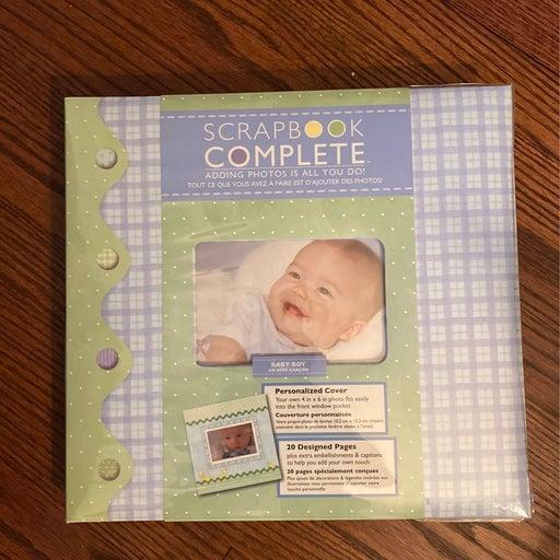 Little pond Baby boy scrapbook kit