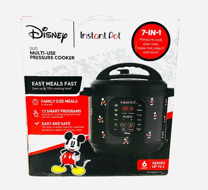 Mickey Mouse 7n1 Instant Pot Duo 6Quart