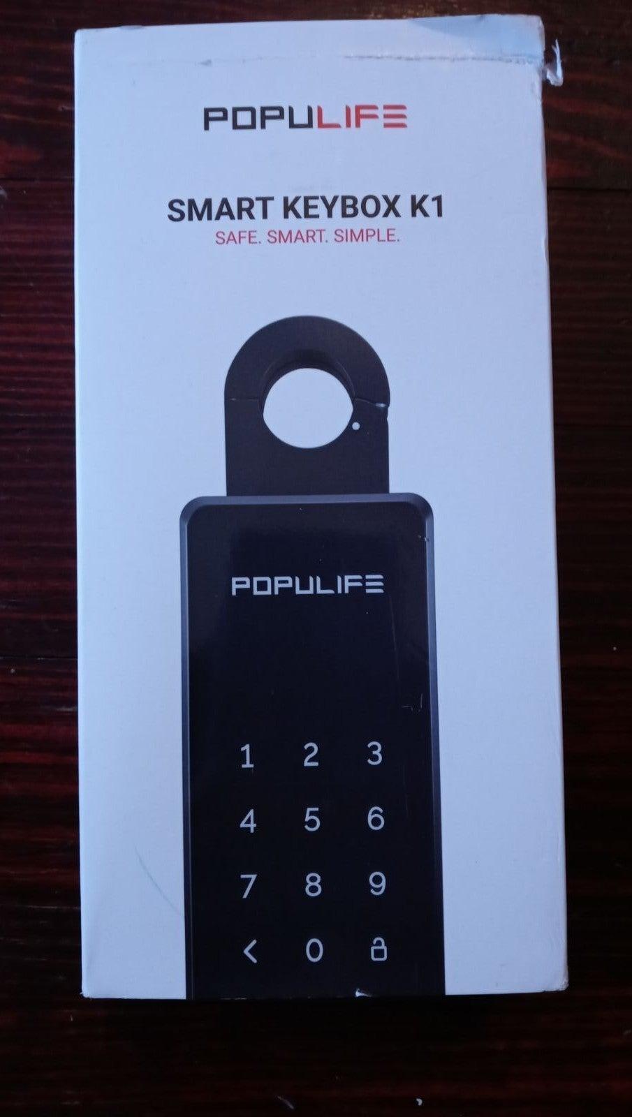 Bluetooth Weatherproof LCD Lock Box
