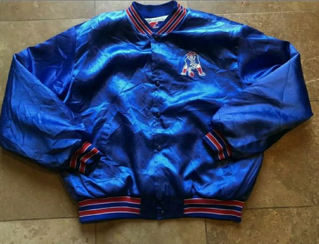 Vtg new england patriots jacket XL