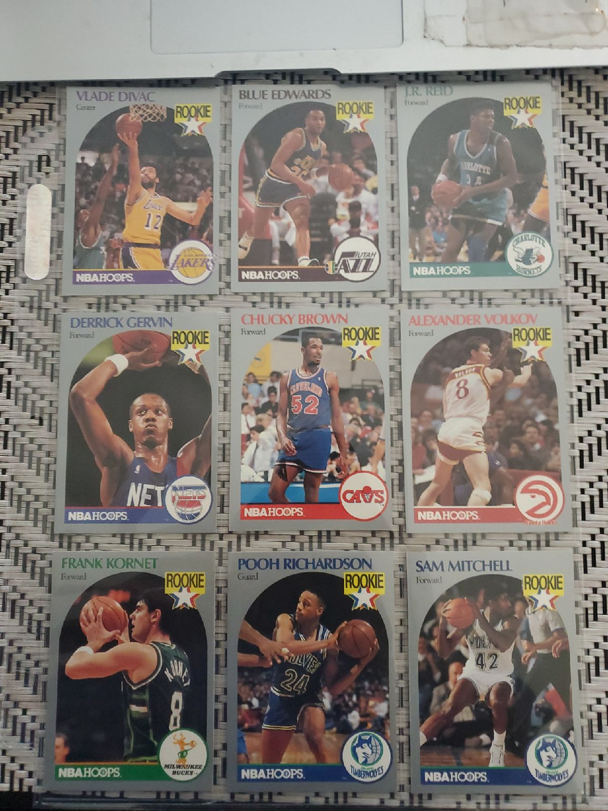 Lot NBA 80s ROOKIE cards