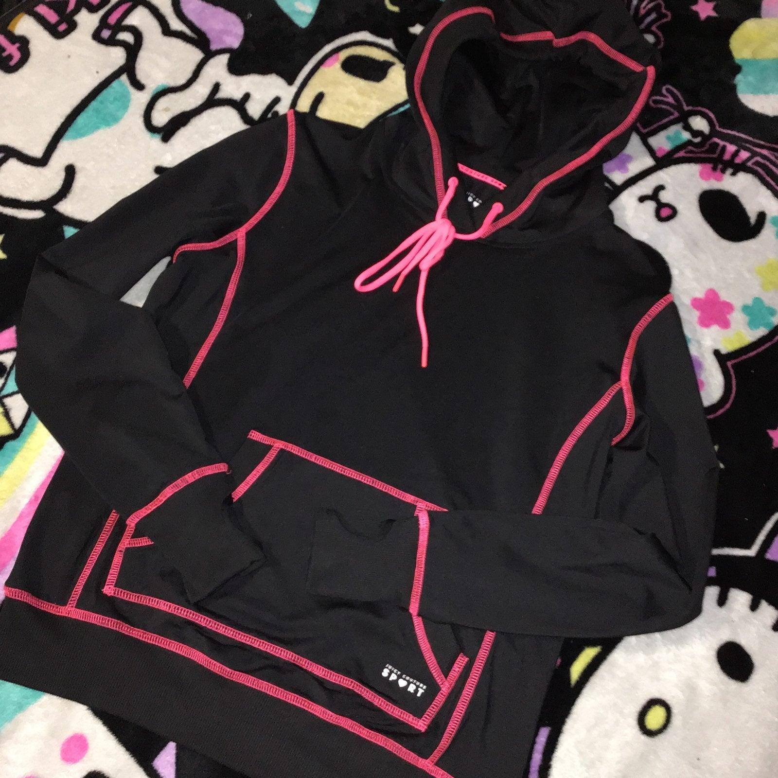Juicy couture sport black hoodie