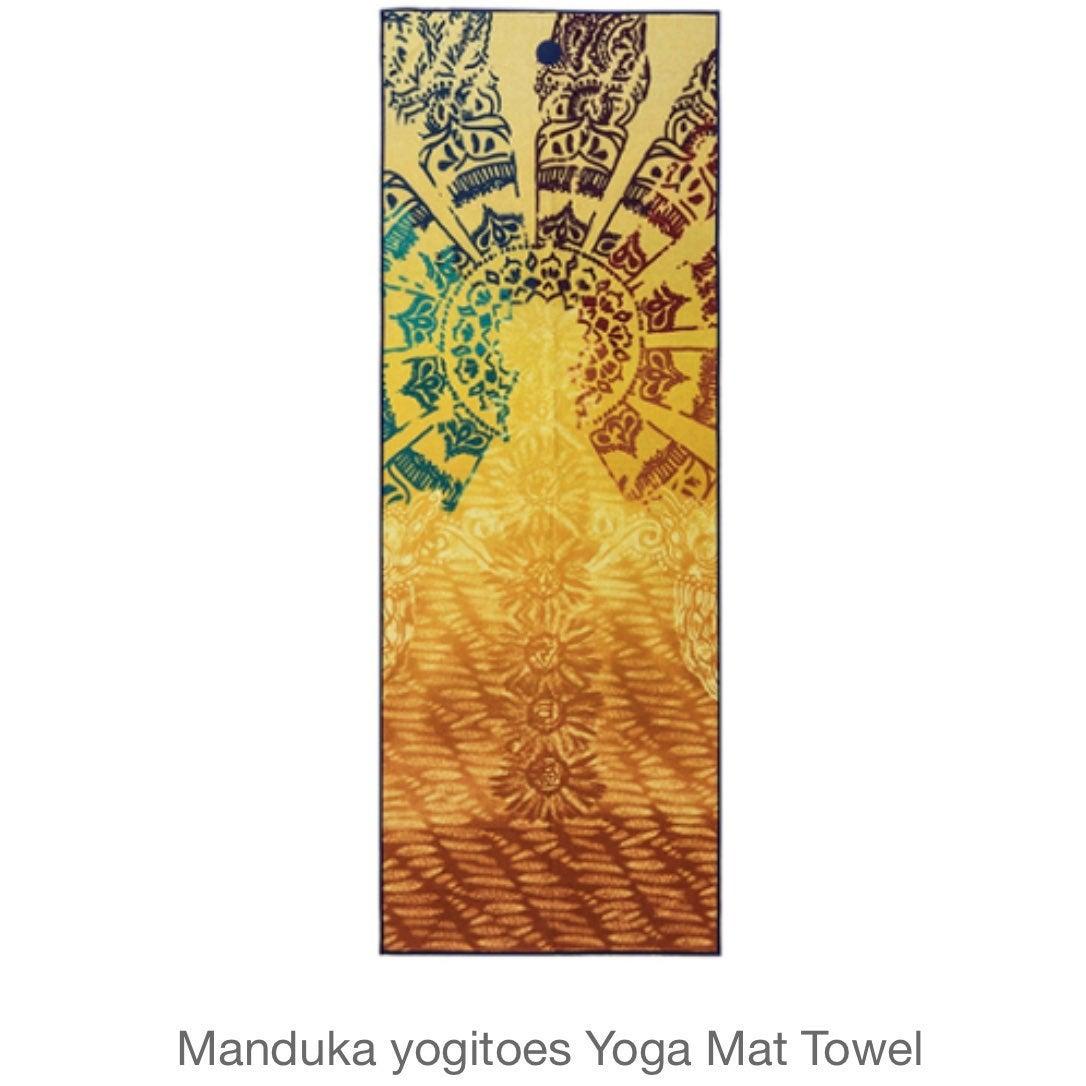 NWT Manduka Yogitoes Yoga Mat Towel
