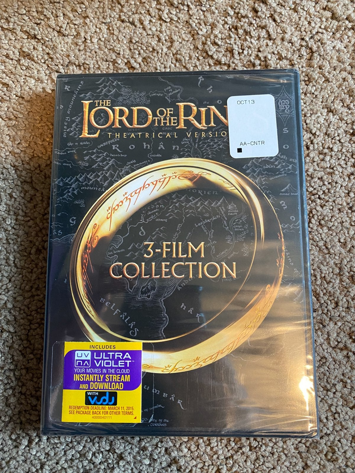 Lord Of The Rings Trilogy DVD (Sealed)