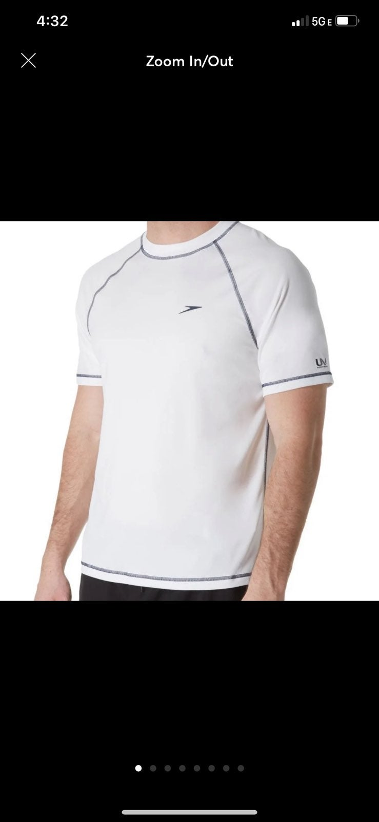 Speedo Short Sleeve Loose Fit Swim Tee